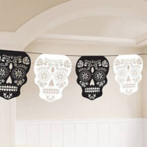 Skull Garland Day of the Dead 365 cm