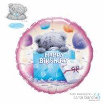 18 inch-es Macis - Tatty Teddy Birthday Present Születésnapi Fólia Léggömb