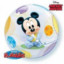 22 inch-es Disney Baby Mickey Bubbles Léggömb Babaszületésre