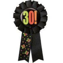 30. Számos Birthday Cheer Születésnapi Party Szalagos Jelvény