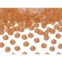 Narancssárga tökfejek konfetti