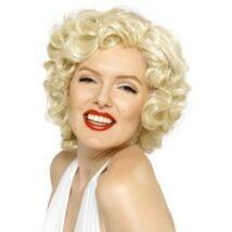Rövid Szőke Marilyn Monroe Paróka