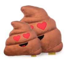 Szerelmes Kaki Emoji Párna 50 cm