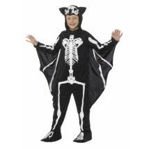 Csontváz denevér kisfiú jelmez L