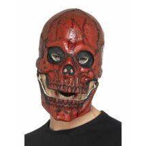 Véres koponya maszk halloweenre