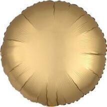 18 inch-es Chrome Arany - Gold Kerek Fólia Lufi