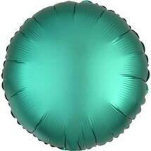 18 inch-es Chrome Zöld - Green Kerek Fólia Lufi
