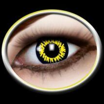 Színes kontaktlencse többször-sárga
