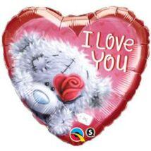 18 inch-es Me To You I Love You Macis Szerelmes Fólia Léggömb