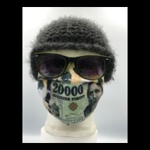 20000 Ft mintás pénzes szájmaszk, sterilizálható