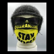 Quarantine Stay home mintás szájmaszk, sterilizálható