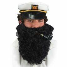 Nagy Fekete Hajóskapitány Szakáll