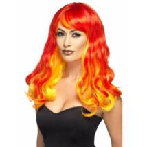 Ombre devil flame wig