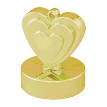 Arany (Gold) Szives Léggömbsúly - 110 Gramm