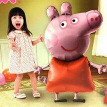 Peppa Pig (Malac) Sétáló Fólia éggömb