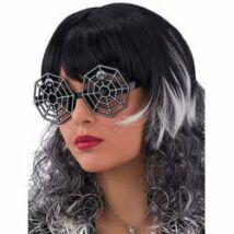 Pókháló Alakú Szemüveg Halloween-ra