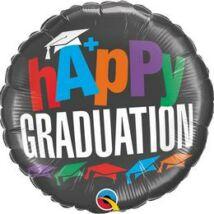 18 inch-es A+ Graduation Ballagási Fólia Lufi
