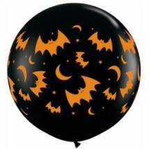 3 feet-es Flying Bats & Moons Wrap Lufi