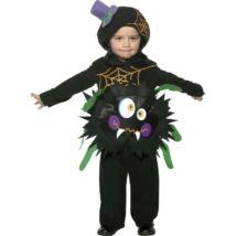 Fekete Pók Gyerek Jelmez