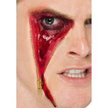 Zipzáras véres szem latex sebhely