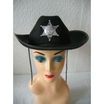 Csillagos sheriff kalap