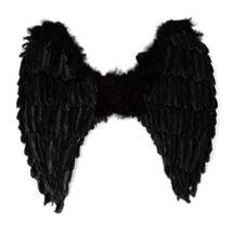 Fekete Toll Angyalszárny - 80 cm x 30 cm