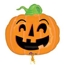 Mosolygó Tök - Happy Pumpkin Super Shape Halloween Fólia Lufi