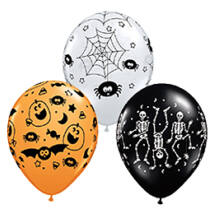11 inch-es Spooky Assortment Halloween Léggömb