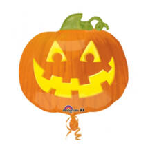 18 inch-es Halloween Jack Tök Fólia Lufi