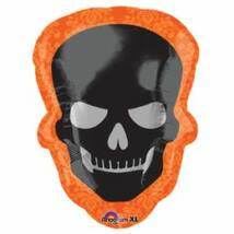 24 inch-es Halloween Skull - Koponyás Fólia Lufi