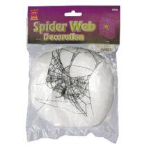 Dekorációs Pókháló 1 db Pókkal