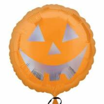 18 inch-es Pumpkin Sheen - Tökfej Holografikus Fólia Lufi