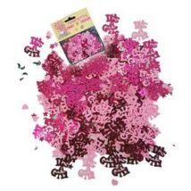 Babaszületésre Kislányos - Its a Girl Pink Konfetti - 14 gramm