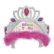 Pink Mom To Be - Kismama Party Tiara