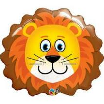 29 inch-es Oroszlán Fej - Lovable Lion Fólia Léggömb