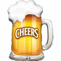Sörös Korsó - Beer Mug Super Shape Fólia Lufi
