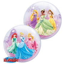 22 inch-es Disney Princess Royal Debut hercegnős bubbles léggömb