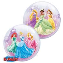 22 inch-es Disney Princess Royal Debut hercegnős bubbles léggömb