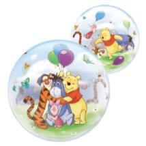 22 inch-es Disney Bubbles Winnie The Pooh And Friends Micimackó