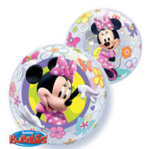 22 inch-es Disney Minnie Mouse Bow-Tique Bubbles Lufi