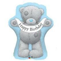 36 inch-es Macis - Tatty Teddy Birthday Szülinapi Fólia Lufi