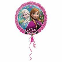 28 inch-es Frozen - Jégvarázs Éneklő Születésnapi Fólia Léggömb