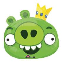 Angry Birds (Mérges Madarak) - Zöld Malac Super Shape Fólia Léggömb