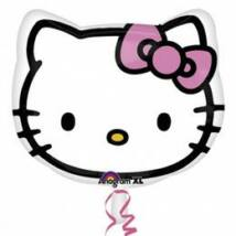 15 inch-es Hello Kitty Fej Fólia Léggömb
