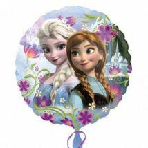 17 inch-es Jégvarázs - Frozen Elsa & Anna Fólia Léggömb