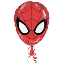 18 inch-es Pókember Fej - Ultimate Spiderman Head - Fólia Lufi