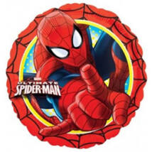 17 inch-es Pókember - Spiderman Action - Fólia Lufi