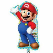 Super Mario Super Shape Fólia Léggömb