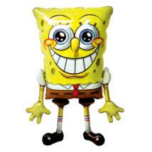Spongyabob Kockanadrág - SpongeBob SquarePants - Sétáló (Airwalkers) Léggömb