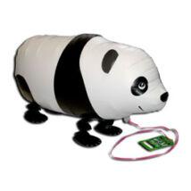 Sétáló Panda fólia lufi